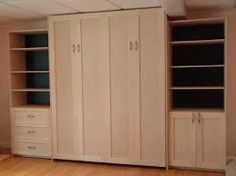Unfinished Wood Storage Cabinet Boston Wall Beds Inc Wall Beds Storage Furniture A Smart