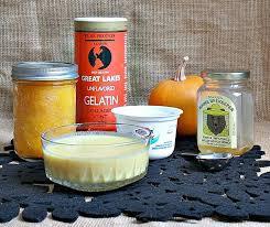 diy pumpkin honey gelatin hair mask