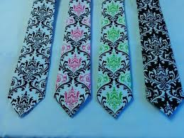 Damask Tie Damask Tie Or Hanky Colors Cotton Damask Necktie Pocket