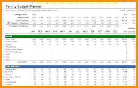 Meal Budget Planner Last Planner Excel Template