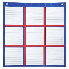 Carson Dellosa Deluxe Scheduling Pocket Chart Carson Dellosa Publications Differentiated Choice Board