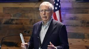 WATCH: Sen. Mitch McConnell speaks in ...