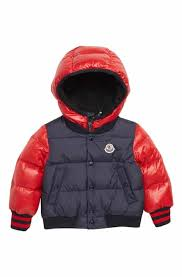 Moncler Monieux Varsity Down Puffer Jacket (Baby Boys)