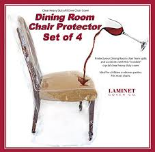 3 clear plastic dining room chair covers com laminet all over dining room chair cover