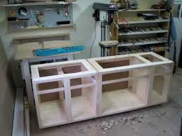how to make kitchen cabinets: woodworking my first custom kitchen cabinets pics only