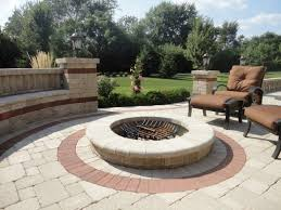 inspirational brick patio fire pit outdoor grill ideas brick patios with fire pit a69 pit