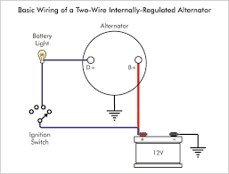 wiring diagram for gm one wire alternator the with chevy within 1 wire alternator hook up at Basic Chevy Alternator Wiring Diagram