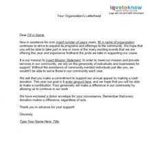 Fund Raising Letters Simple Nonprofit Fundraising Letter Cover Letter Samples Cover Letter