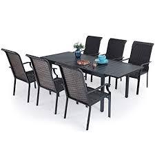 phi villa 7 piece outdoor dining