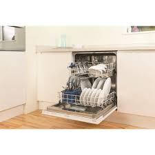 sharp integrated dishwasher. indesit dif04b1 13 place fully integrated dishwasher - white sharp