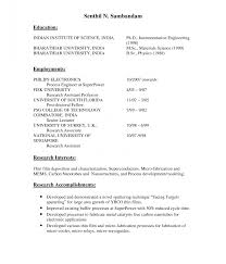 Lecturer Resume Objective Career Examples For How To Write A
