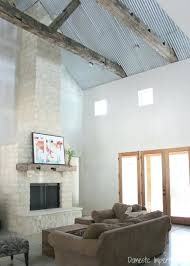 corrugated ceiling corrugated metal ceiling rustic beams and stone corrugated tin ceiling basement corrugated ceiling