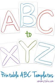 abc printable templates a mom s take abc printable templates