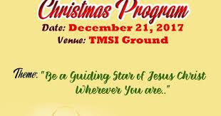 Christmas Program Theme Christmas Program 2017 Updated 12 12 2017