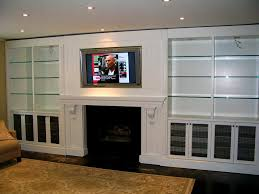 bathroom formalbeauteous custom built wall units made mounted shallow in tv with fireplace unit cabinet
