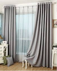 slate gray blackout curtain insulation curtain custom curtains all size on