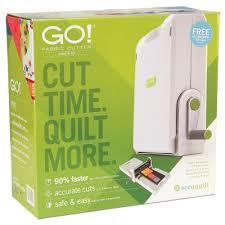 GO! Fabric Cutter Starter Set |AccuQuilt| & Fabric Cutter Starter Set (55100S) - packaging shown (Front) ... Adamdwight.com