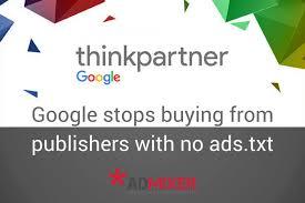 google ads txt