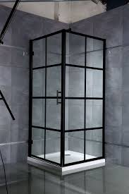 hot tags black frame shower door for corner china manufacturers suppliers whole