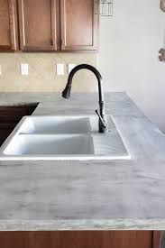 installing laminate sheet over existing countertop luxury diy feather finish concrete countertops bless er house of