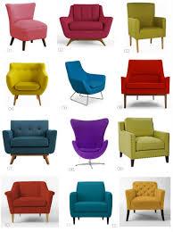 bright colored furniture. Home Decor:Bright Colored Accent Chairs House Furniture Ideas Bright L