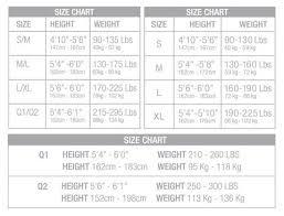 Womens Size Chart Memoi