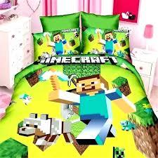 twin pokemon bed set bedroom popular game boys bedding kit of duvet cover sheet