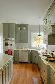 Functional Kitchen Cabinets Cool Traditional Kitchen Idea With Grey Cabinets Grey Corner Cabinet