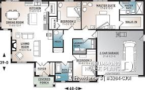 one story house plans and ranch style