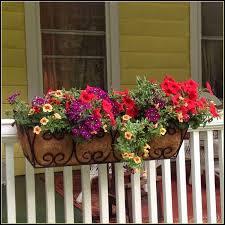 Porch Flower Boxes