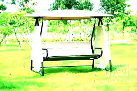 swing canopy replacement replace for cushions and garden 3 person patio parts set p canopy swing replacement parts patio hardware frame