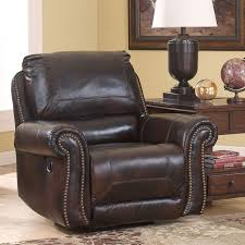 Dexpen Saddle Swivel Glider Recliner Signature Design by Ashley