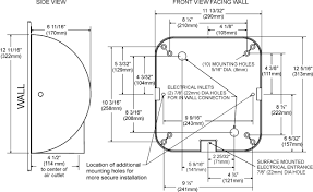 xlerator® hand dryer 8 second dry time click diagram for enlargement