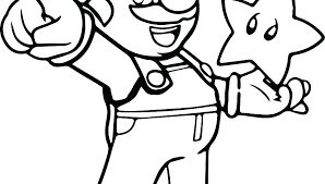 Mario Coloring Pictures Full Size Of Super Galaxy Colouring Pages To