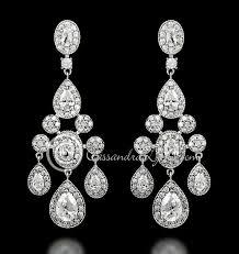 chandelier earrings for wedding australia 41 best sterling silver cz wedding jewelry images on 736