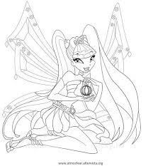 Disegni Da Colorare Winx Stitching Fairies And Fantasy Themes