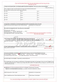 how to fill study visa application form study  bellow is the sample of visa application form i share this just for your help and guidance original form from the website of german embassy