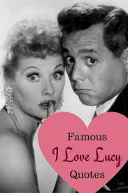 I Love Lucy Quotes Amazing Famous I Love Lucy Quotes HubPages