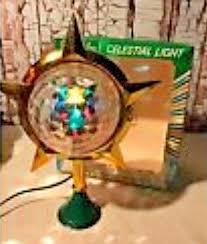 Celestial Lights Christmas Tree Topper Details About Vintage Christmas Fiber Optics Tree Top Over