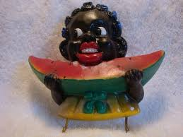 Image result for poster of black eating a watermelon
