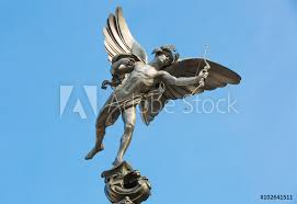 photo art print eros statue at piccadilly circus london uk abposters com