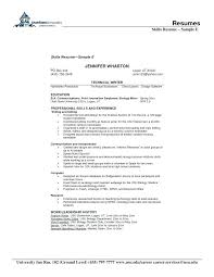 Professional Skills To List On Resume Professional Skills List