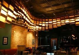 coffee shop lighting. Grit Tank, Double Overhead, Roast Coffee Co., Green Lighting, Sustainable  Lighting Coffee Shop Lighting O