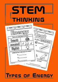Types Of Energy Coloring Doodle Sheets Elementary Science By