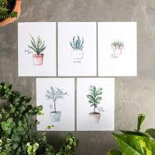 40 free plant fl printables for