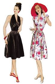 Retro Dress Patterns Classy Pin By Tina Prentice On My Cothes Appearanc Style Pinterest