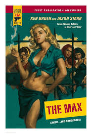 Crime Print Cover The Hard Orbik – Glen - Suntup Case Max Editions