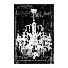 chandelier canvas painting in black art print prints chandelier canvas painting