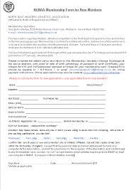 Application For Membership Postal Application Form For New Members Nemaa