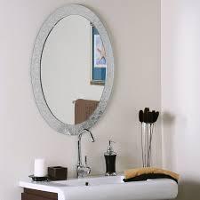 Amazon.com: Decor Wonderland SSM5016-4 Luxor Frameless Wall Mirror ...